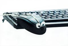 Mouse and keyboard Stock Image