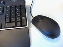 Mouse and keyboard Royalty Free Stock Image