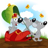 Mouse king Royalty Free Stock Images