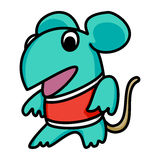 Mouse Mascot 01 Royalty Free Stock Photo