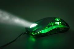 Mouse ottico Immagini Stock
