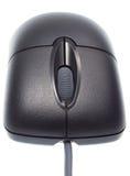 Mouse ottico nero Fotografia Stock