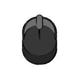 Mouse pc device Royalty Free Stock Photos