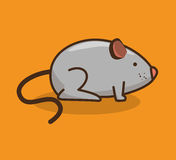 mouse pet shop icon Royalty Free Stock Images
