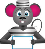 Mouse-prisoner Stock Images