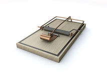 Mouse or rat trap Stock Images