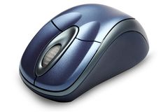 Mouse senza fili Immagini Stock
