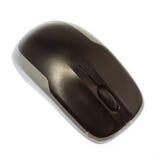 Mouse senza fili del calcolatore isolato su bianco Fotografie Stock