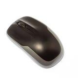 Mouse senza fili del calcolatore isolato su bianco Fotografia Stock Libera da Diritti