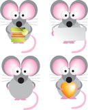 Mouse set Stock Image