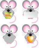 Mouse set Stock Image