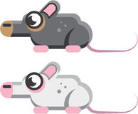 Mouse Stylized vector Icon Stock Image