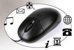 Mouse sul lavoro Immagine Stock Libera da Diritti