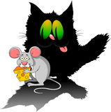Mouse thief Stock Image