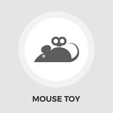 Mouse toy vector flat icon Stock Images