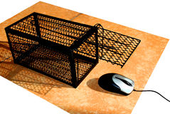Mouse and Trap Stock Photos