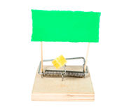 A mouse trap with keys Stock Image