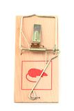 Mouse trap isolated Royalty Free Stock Photography