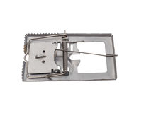 Mouse trap isolated on a white background with clipping path Royalty Free Stock Photography