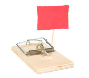 A mouse trap with keys Royalty Free Stock Images