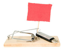 A mouse trap with portable driver Stock Photos