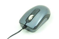 Mouse usato del calcolatore isolato su bianco fotografia stock