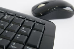 Mouse and Wireless Keyboard Stock Photos