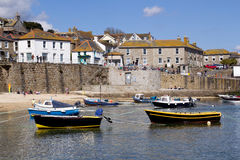 Mousehole. The fishing village of Mousehole Cornwall England UK Stock Photo