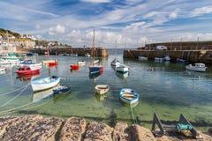 Mousehole Cornwall England Stock Photos