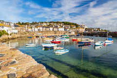 Mousehole Cornwall England Stock Photos