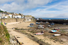 Mousehole Cornwall England UK Cornish fishing village Royalty Free Stock Photography