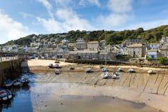 Mousehole Cornwall England UK Cornish fishing village Royalty Free Stock Images