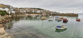 Mousehole cornwall Stock Image