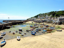 Mousehole, Cornwall. Royalty Free Stock Photography