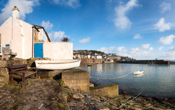 Mousehole Harbour Stock Photos