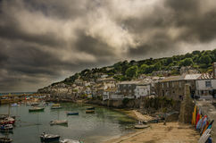 Mousehole Harbour. In Cornwall, southwest UK Royalty Free Stock Image