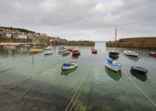Mousehole Harbour Stock Image