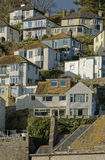 Mousehole. Image taken of homes in mousehole, cornwall, england Royalty Free Stock Images