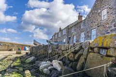 Mousehole traditional fishing harbour Royalty Free Stock Photography