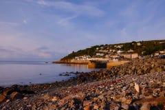 Mousehole wioska, Kornwalijski wybrzeże, Cornwall, UK obraz stock