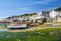 Mouseholehamn Cornwall England Arkivfoto