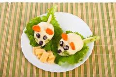 mouses 2 салата сыра Стоковые Изображения