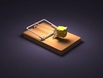 Mousetrap Fotografie Stock Libere da Diritti