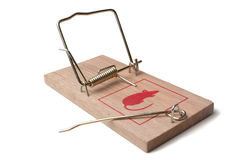 mousetrap Royaltyfria Foton
