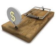 Mousetrap Stockfoto