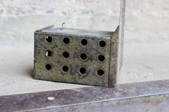 mousetrap Stockbild