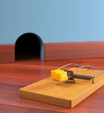 mousetrap Obraz Royalty Free