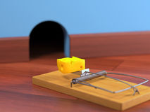 Mousetrap Stock Photography