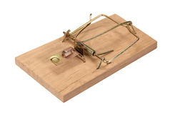 Mousetrap Royalty Free Stock Photography
