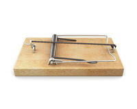 Mousetrap isolated on white background. 3d. Royalty Free Stock Photos